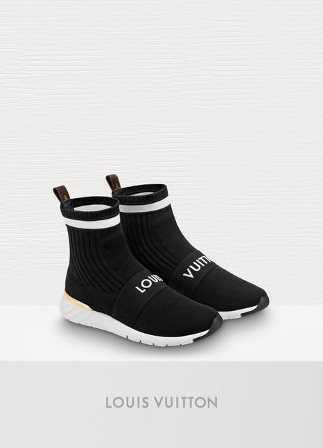 Sneaker Aftergame à effet chaussette femme   Louis Vuitton   24 Sèvres f09be6b6c7b
