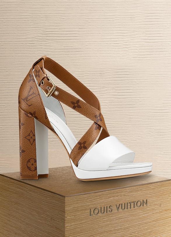 2aea73bae1f4 Louis Vuitton Matchmake Cross Sandal