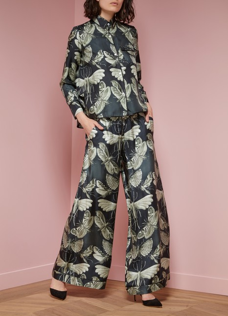 F.R.S FOR RESTLESS SLEEPERS Pantalon en soie Narciso