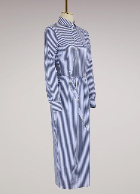 Stella JeanRobe chemise rayée