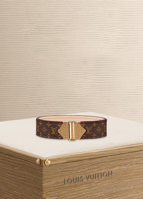 Louis Vuitton Bracelet Spirit Nano Monogram