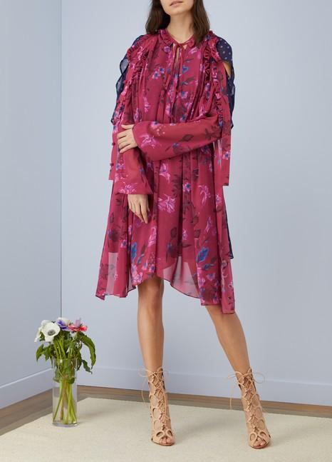 BalenciagaRobe courte double porté