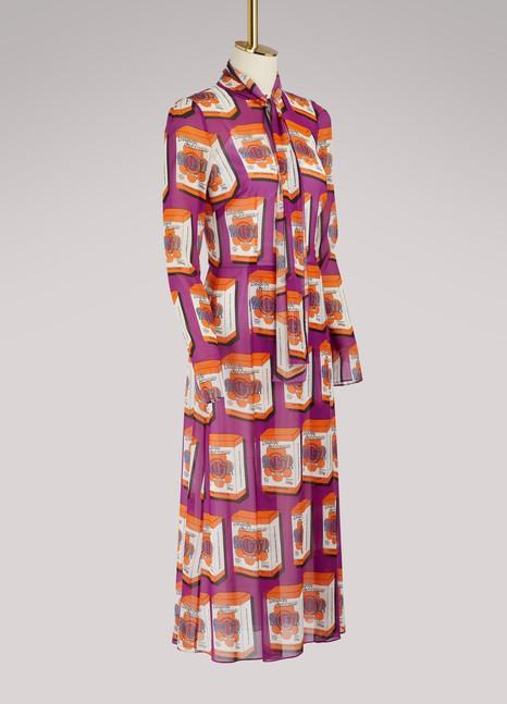 Dolce & GabbanaBoxes Pop midi dress