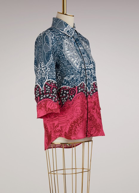 Mary Katrantzou Rita Silk Shirt