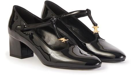 CELINEPatent leather stilettos