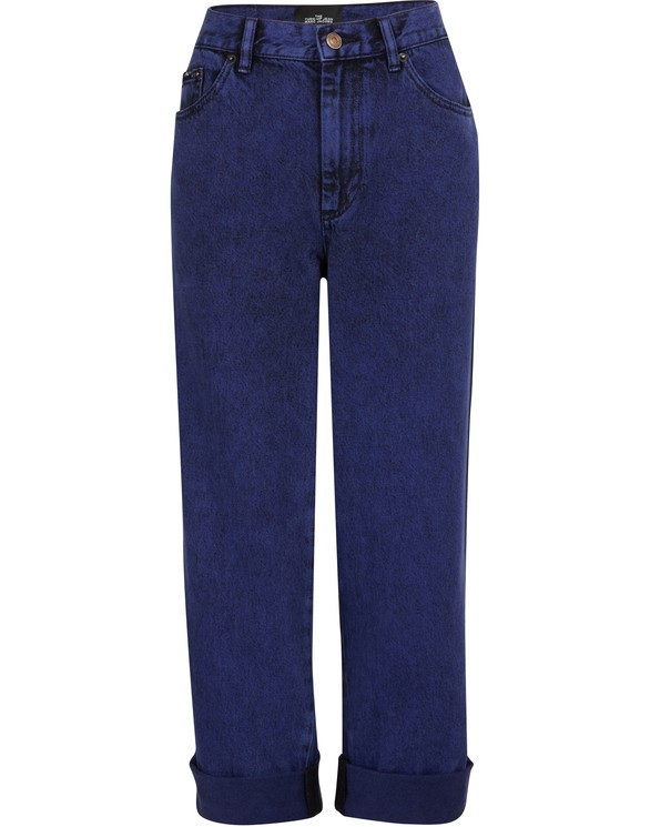 """MARC JACOBS""""The Turn Up"""" overdye jeans"""