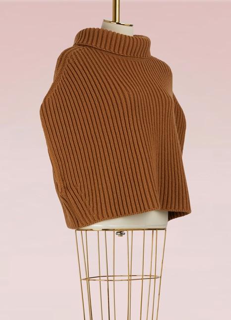 Jil SanderPull en laine à col haut