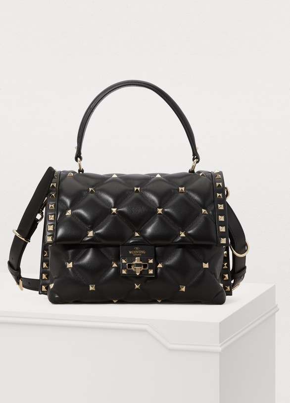 ValentinoValentino Gavarani Candystuds quilted shoulder bag