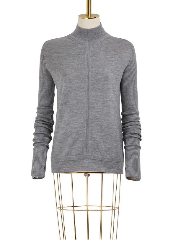 GAUCHERETurtle neck wool sweater
