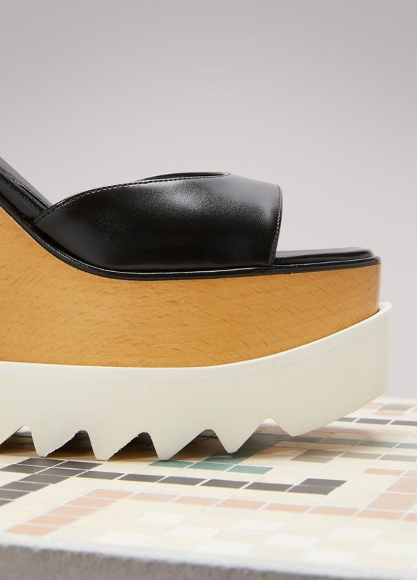 59854a003554 Stella McCartney Elyse Wedge Sandals ...