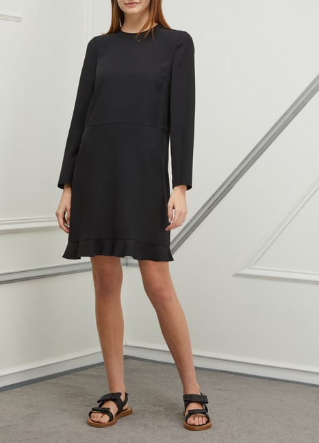 RED VALENTINO Long-sleeved short dress