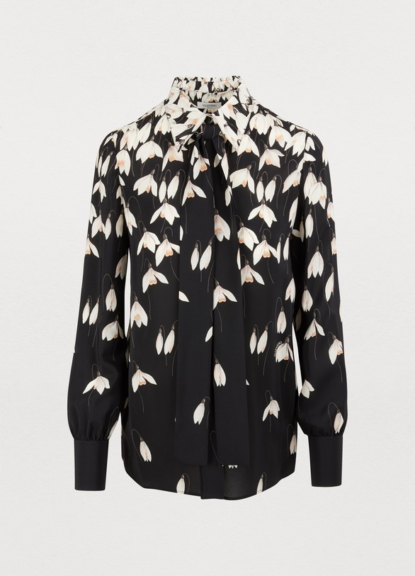 VALENTINO Blouse with tie collar