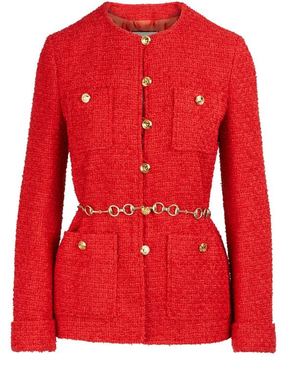GUCCIBelted tweed jacket