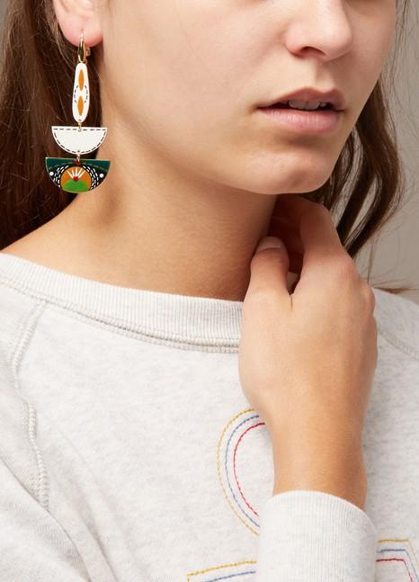 ISABEL MARANTBoucles d'oreilles oeils