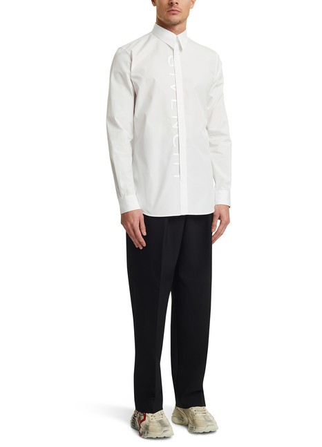 GIVENCHY Givenchy embroidered shirt