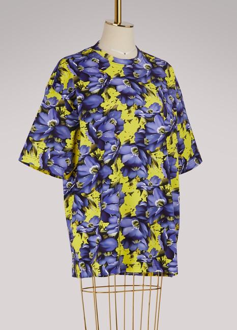 BalenciagaT-shirt oversize avec gants