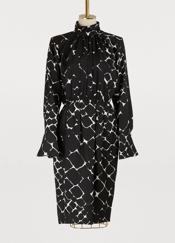 Marc Jacobs Long-sleeved printed dress