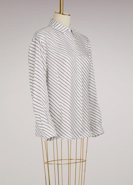 CarvenSilk Loose-Fit Shirt