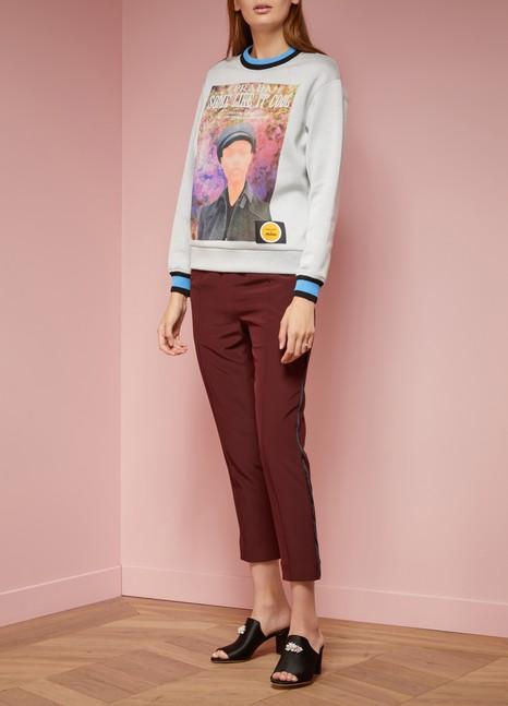 PradaPrinted sweatshirt