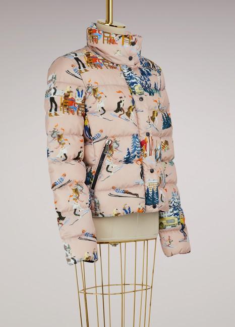 MonclerClairette printed down jacket