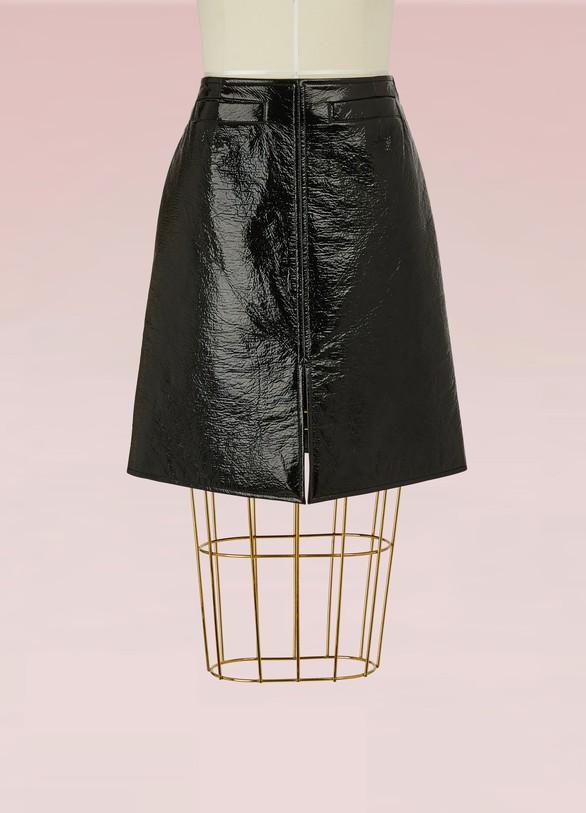 CourrègesClassic Midi Skirt