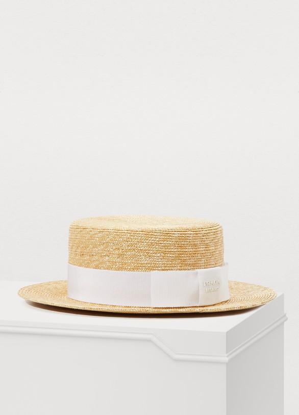 PRADAStraw hat