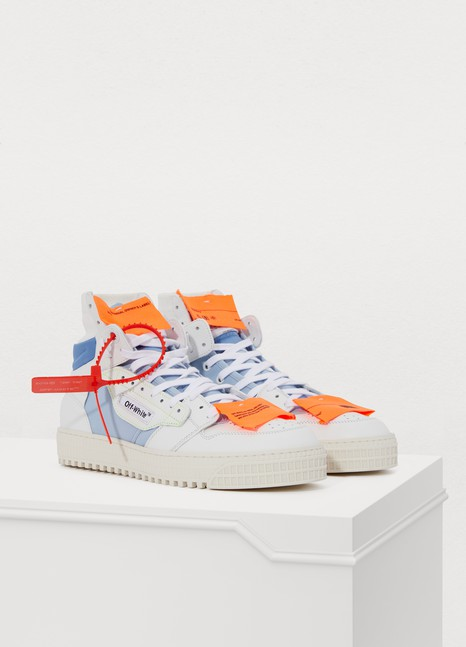 Off White Baskets montantes Off court