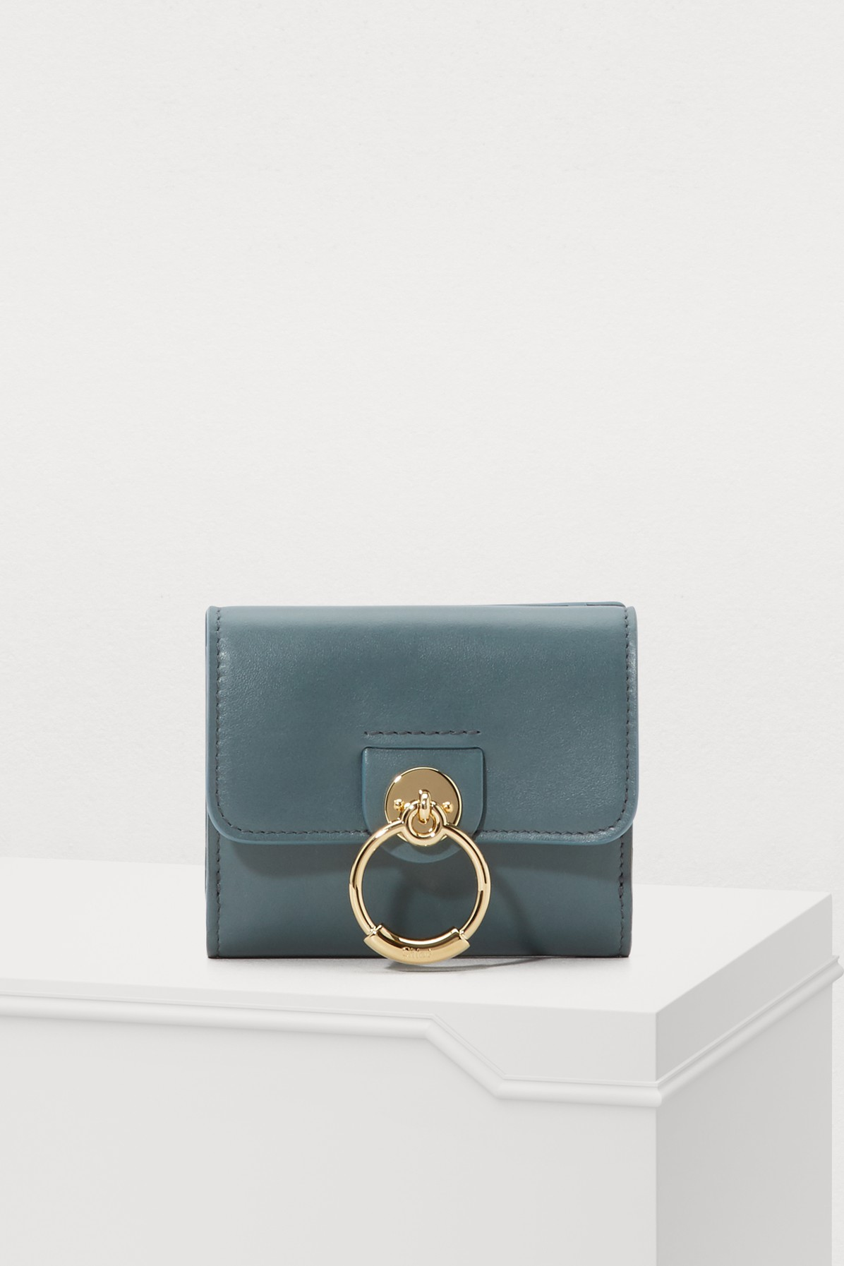 CHLOÉ | Tess Small Square Wallet | Goxip