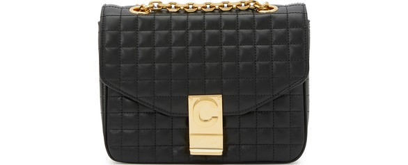 CELINESmall C bag in quilted calfskin