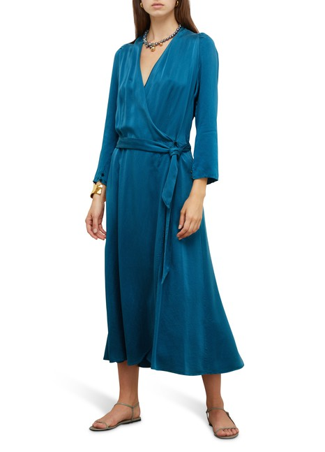 FORTE_FORTE Silk dressing gown