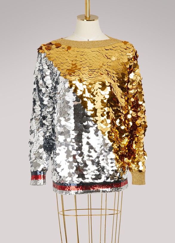 Gucci Sweatshirt à sequins