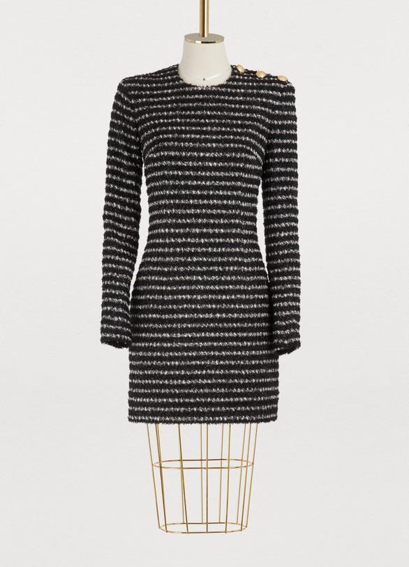 BalmainTweed mini dress
