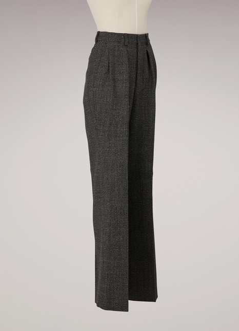 Ami Virgin wool large pants