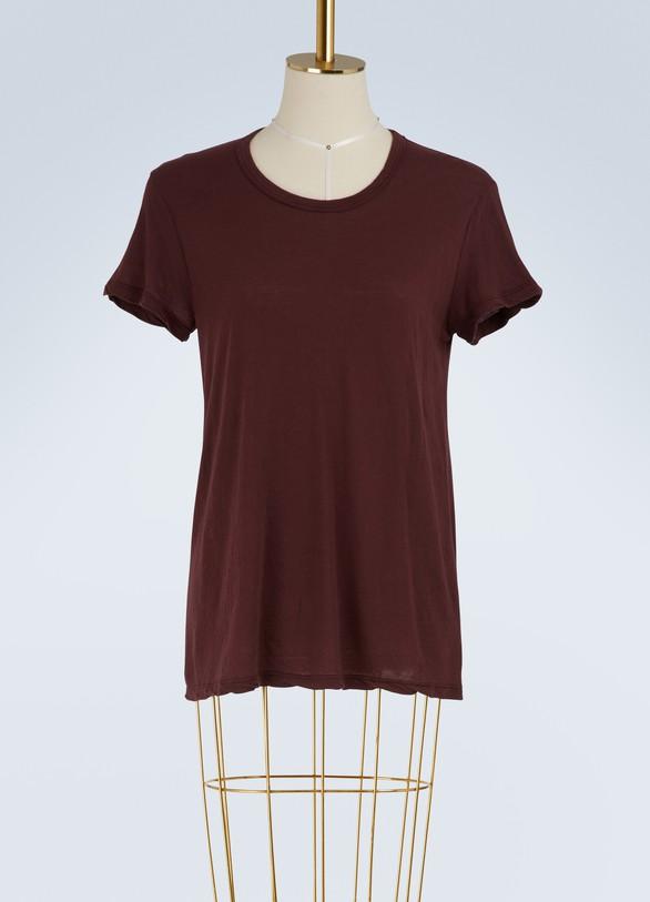 James PerseT-shirt en crêpe de jersey