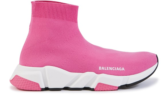 BALENCIAGA Speed leather trainers