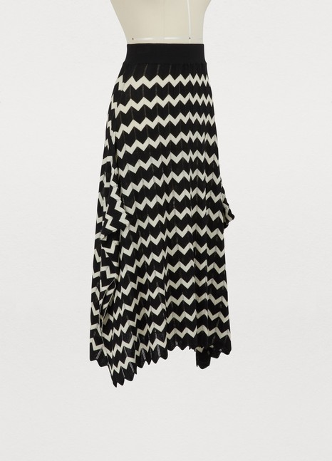 Stella McCartney Wool midi skirt
