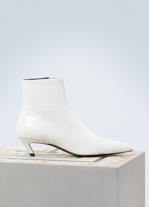 BalenciagaSlash ankle boots