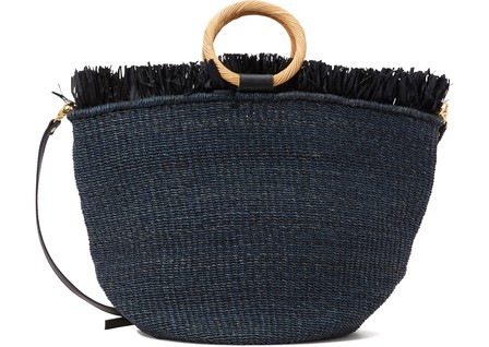 Aranaz CARISSE TOTE BAG WITH FRINGES