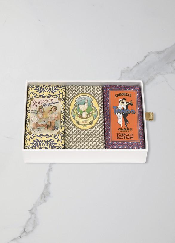 Claus PortoClassico Gift Box 3x150 g Soap (Barbear | Chicken | Tango)