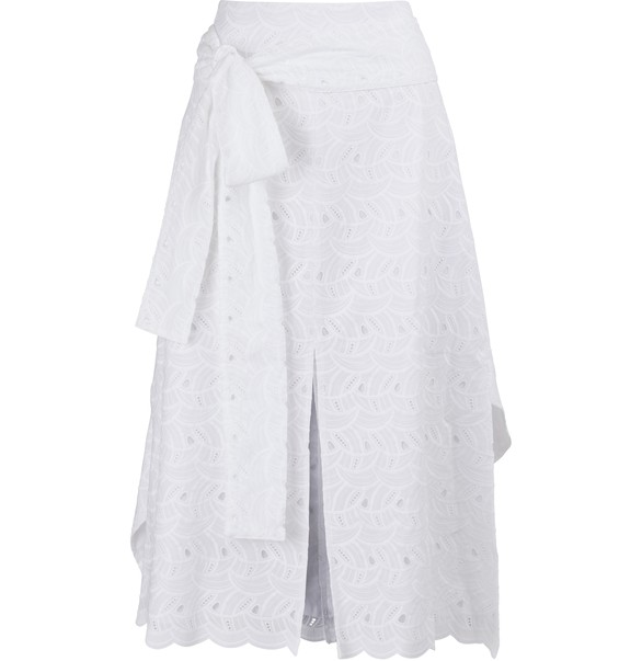 JOUR NEEmbroidered skirt