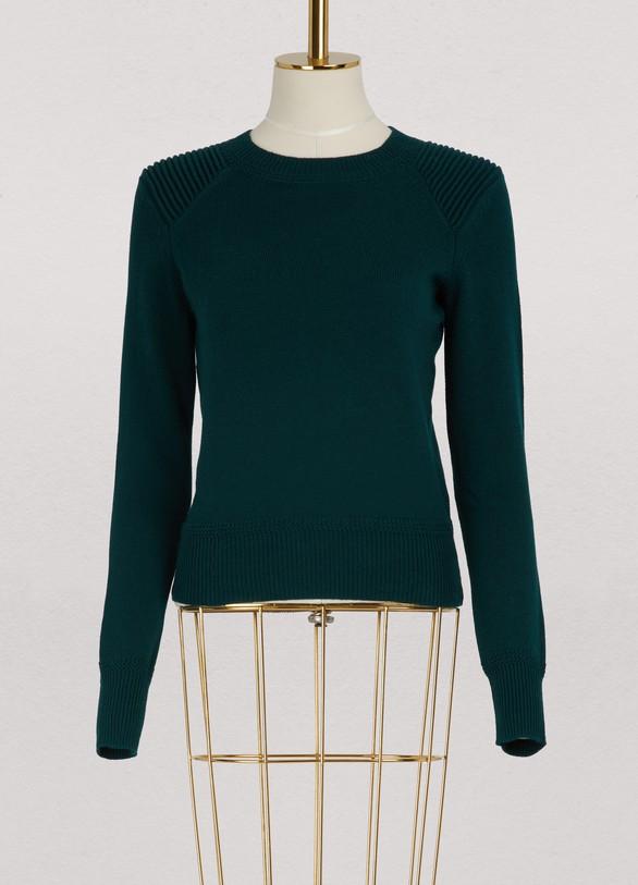47138e1309f Women's Kleeza cotton and wool sweater | Isabel Marant Etoile | 24S ...