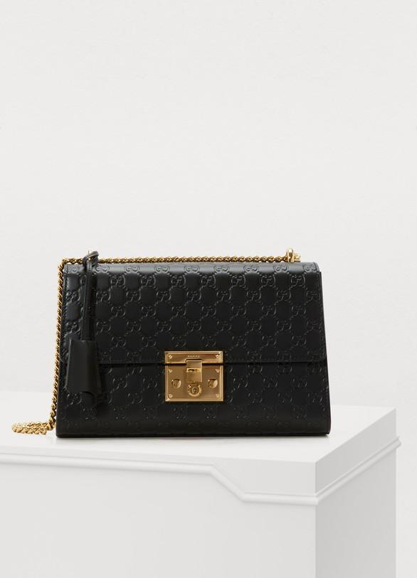 c992a29ce91 Women s Padlock Gucci Signature Shoulder Bag