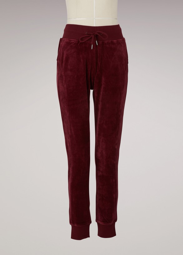 separation shoes ed632 47f5b Velvet fitted trackpants