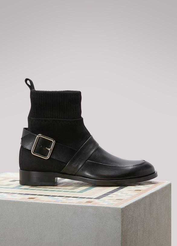 Réduction Abordable Acheter Dernières Collections Bon Marché Pierre Hardy Boots suède en veau Vente Nicekicks qMnnJxv