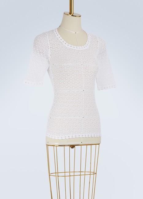Dolce & GabbanaLace T-shirt