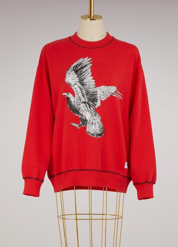 KENZOSweat Eagle en coton
