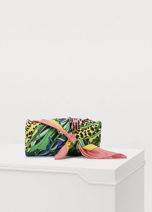 GucciLeopard print silk scarf