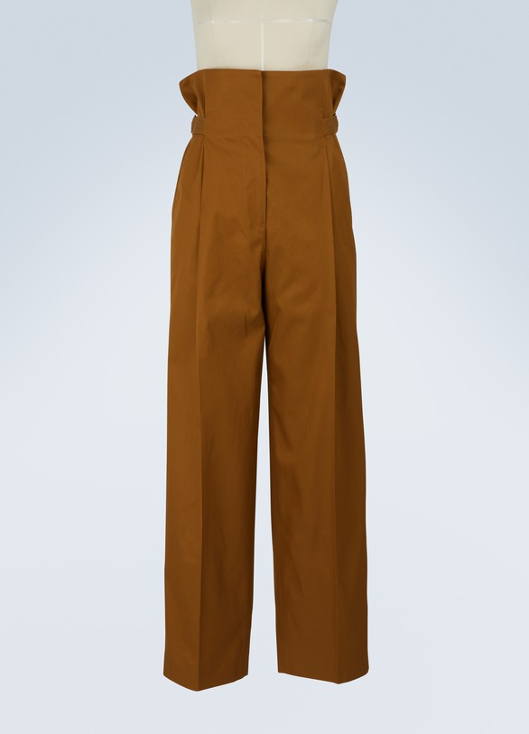 Jil Sander Evan large trousers