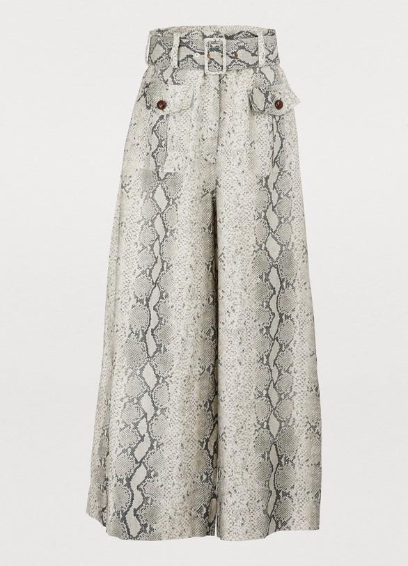 ZimmermannCorsage linen pants