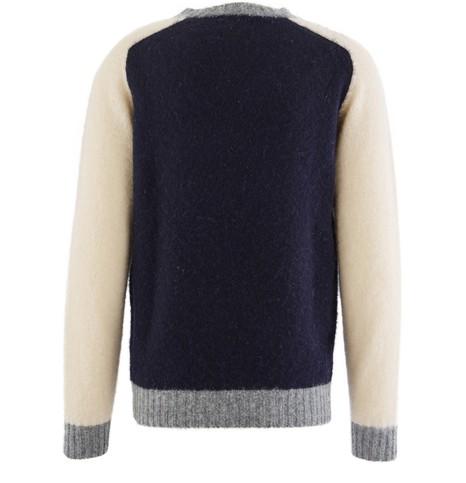 HOWLIN'Colorblock jumper